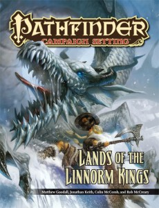 PZO9238 Lands of the Linnorm Kings cover