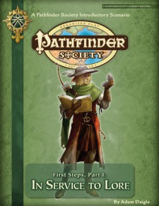 Pathfinder Society Intro module 1