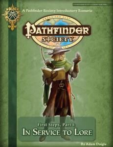 Pathfinder Society Intro module 1