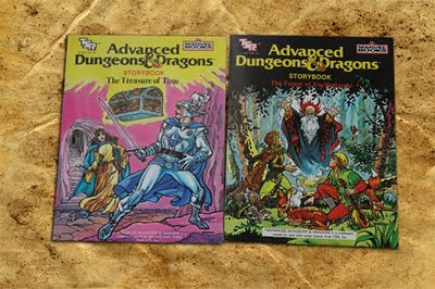 AD&D storybooks TSR Marvel
