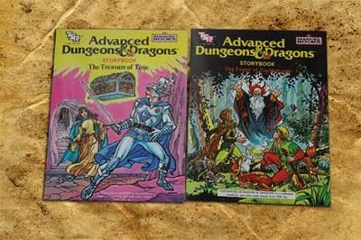 AD&D storybooks TSR Marvel