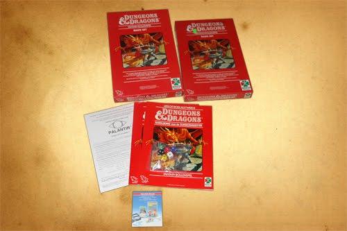 D&D Red Box dutch edition