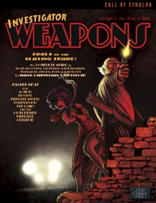 Investigator weapons vol1