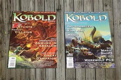 Kobold Quarterly update