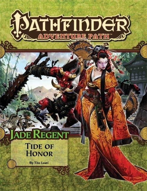 PZO9053 Jade Regent Tide of Honor