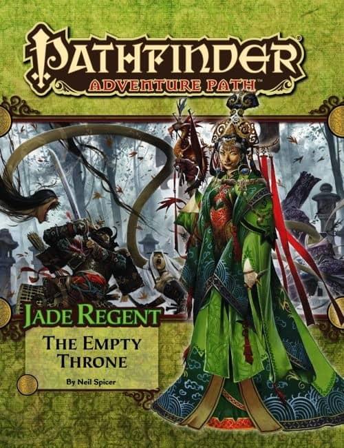 PZO9054 Jade Regent the empty throne