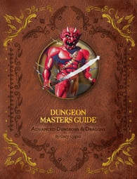 AD&D Dungeon Master Guide reprint