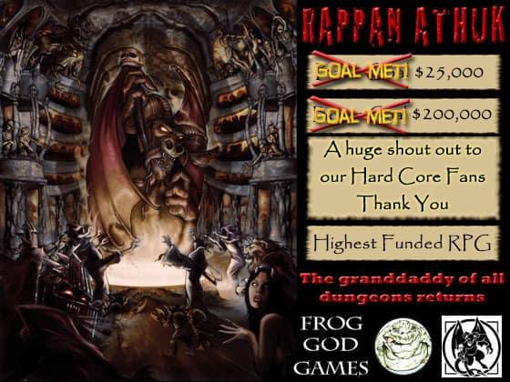 Rappan Athuk Kickstarter