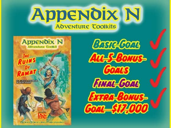 DCC Appendix N Kickstarter
