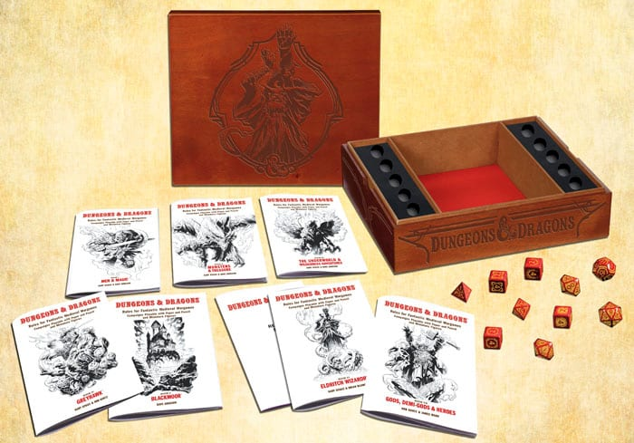 D&D white box reprint