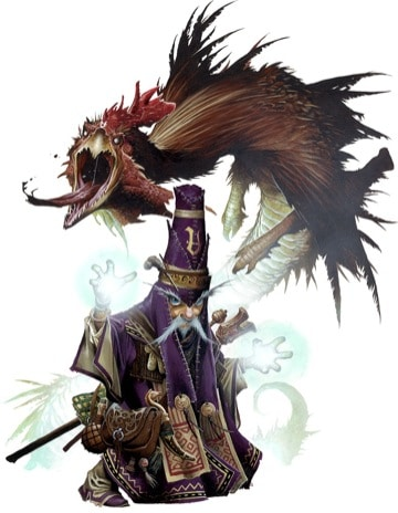 Pathfinder Iconic Summoner Balazar