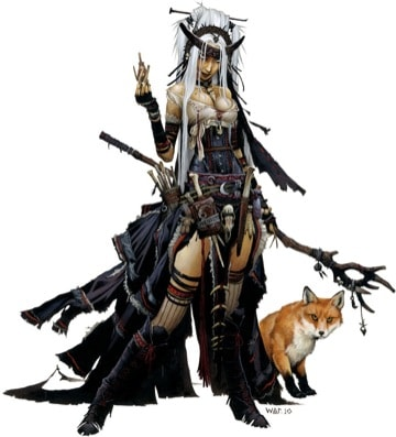 Pathfinder Iconic Witch Feiya