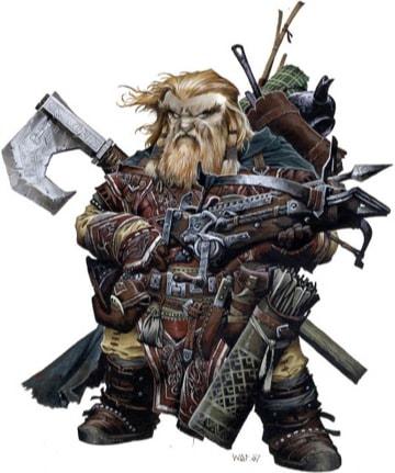 Dwarf Iconic Ranger Harsk