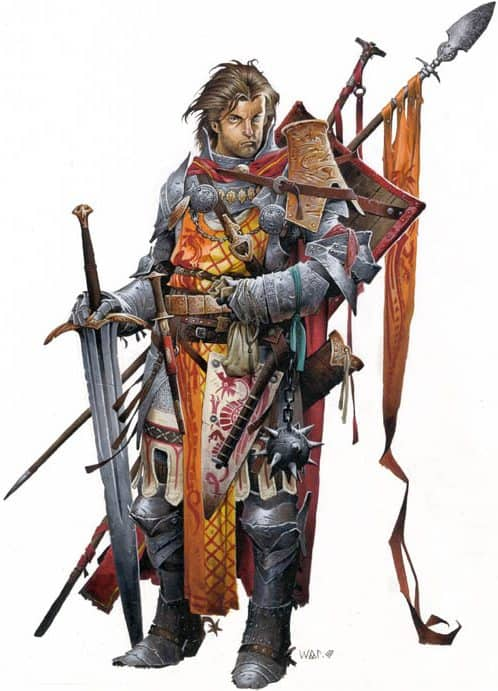 Pathfinder Iconic Cavalier Alain Germande