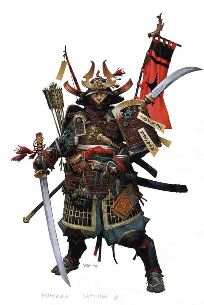 Pathfinder Iconic Samurai Nakayama Hayato