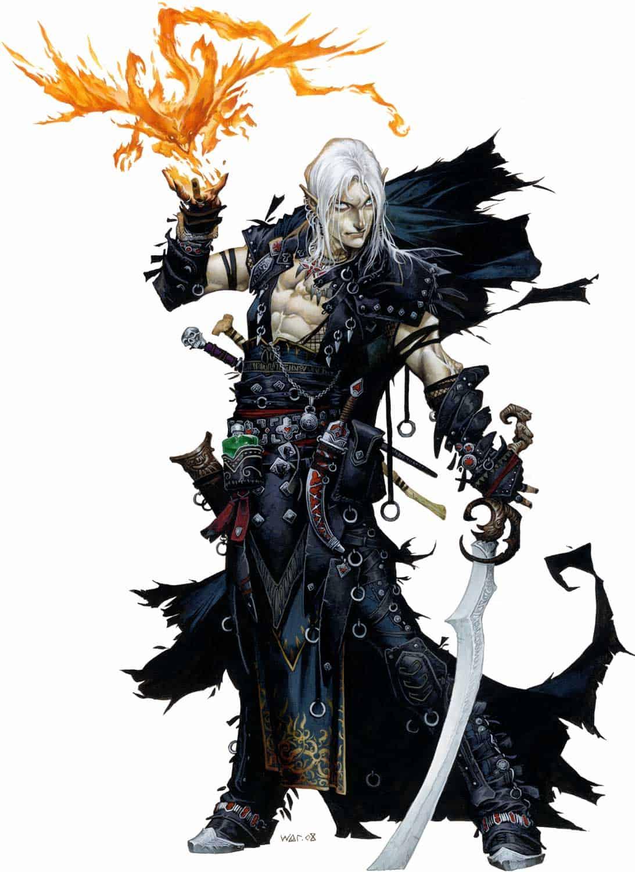 Pathfinder Iconic Magus Seltyiel