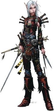 Pathfinder Iconic Rogue Merisiel