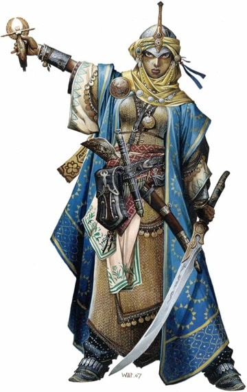 Pathfinder Iconic Cleric Kyra