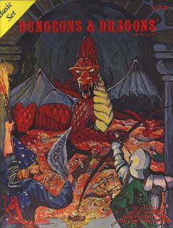 Cover for D&D basic set