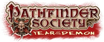 Pathfinder society season 5 year of the demon