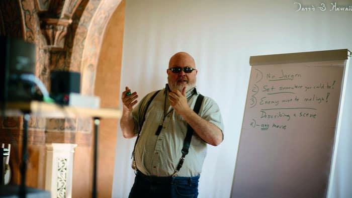 The Kraken 2012 - Workshop Sandy Petersen