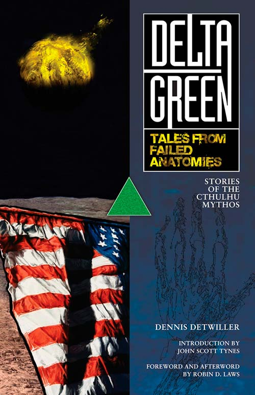 Delta Green Tales from Failed Anatomies cover