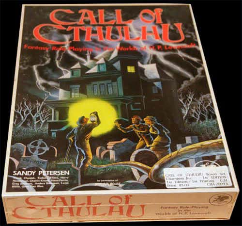 Call of Cthulhu 1st edition