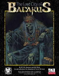 Lost city of Barakus cover