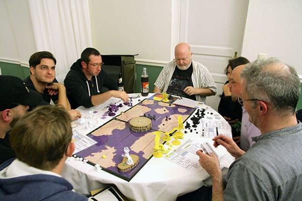 The Kraken 2014: Glorantha The Gods War prototype