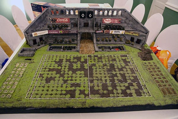 The Kraken 2014 - The Kraken Cup Bloodbowl stadium
