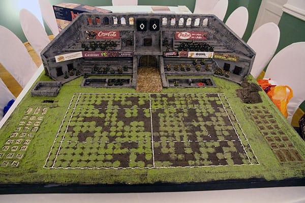 The Kraken 2014 - The Kraken Cup Bloodbowl stadium