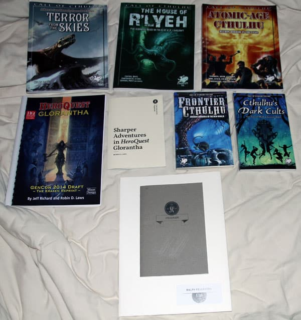 The Kraken 2014 - RPG loot