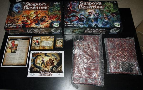 Spiel 2014 Shadows of Brimstone kickstarter pick up