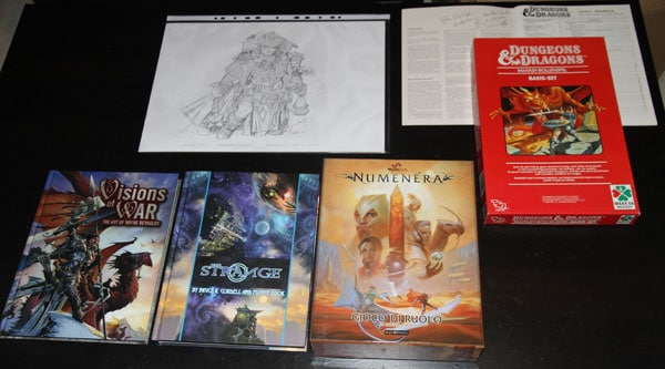 Lucca Games 2014 - RPG loot