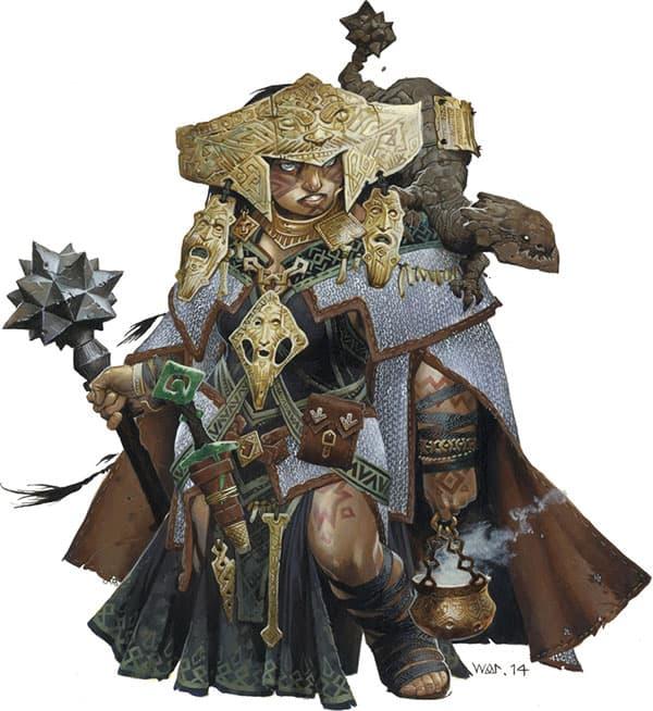 Shardra Pathfinder Iconic Shaman