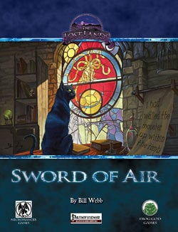 Sword of Air - Frog God Games - Cover