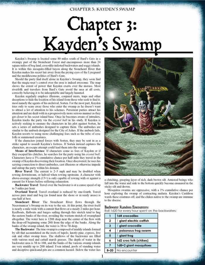 Sword of Air - Frog God Games - Teaser 1