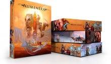 Numenera boxed set mock up