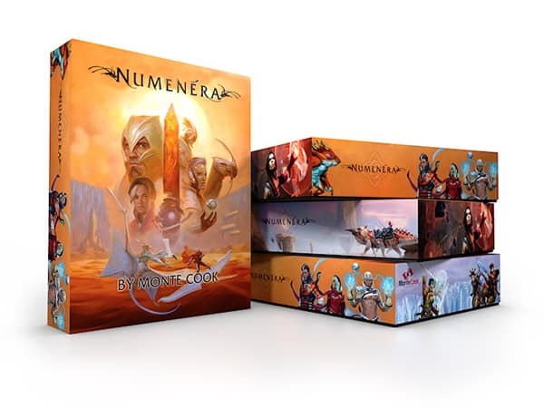 Numenera boxed set mock up