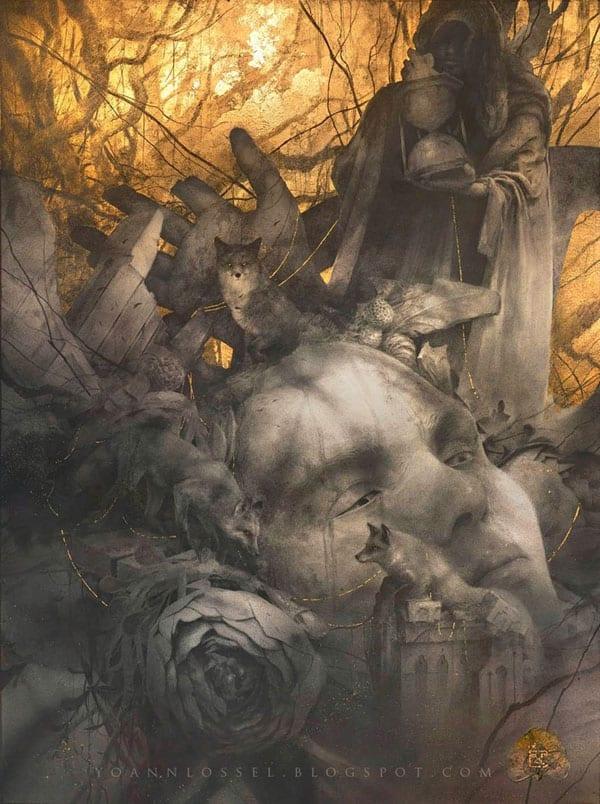Shadows of Esteren Hauntings Kickstarter edition cover art
