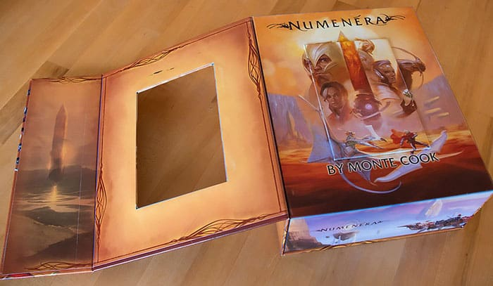 Numenera boxed set prototype