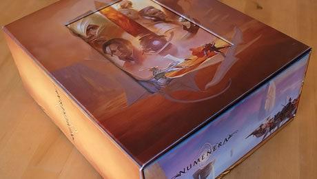 Numenera boxed set prototype