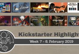 RPG highlights on Kickstarter WK 7 and 8