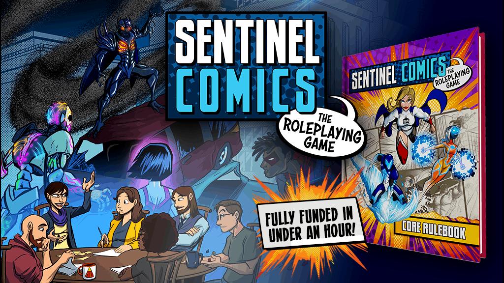 Sentinel Comics RPG kickstarter