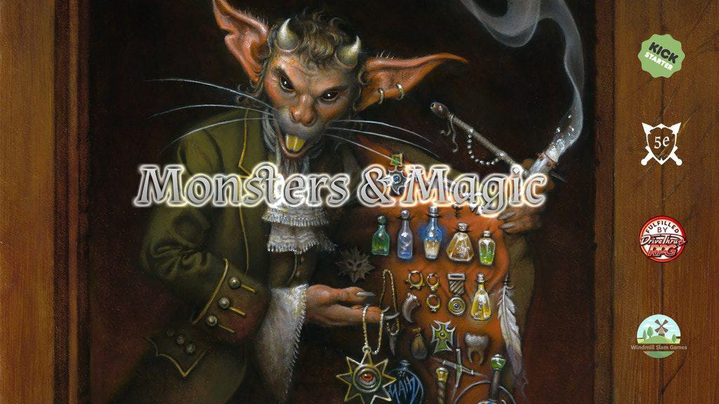 Monsters & Magic kickstarter