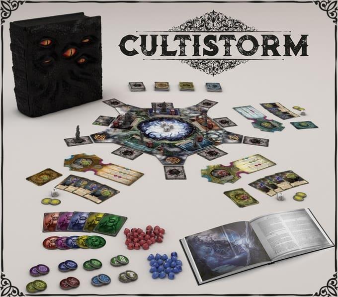 Cultistorm kickstarter