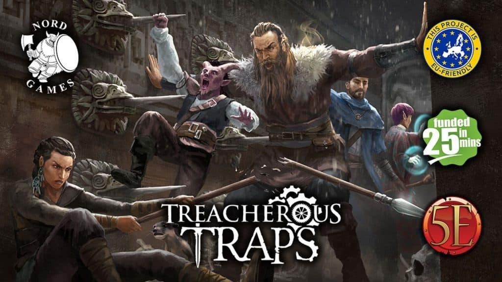 Treacherous Traps kickstarter