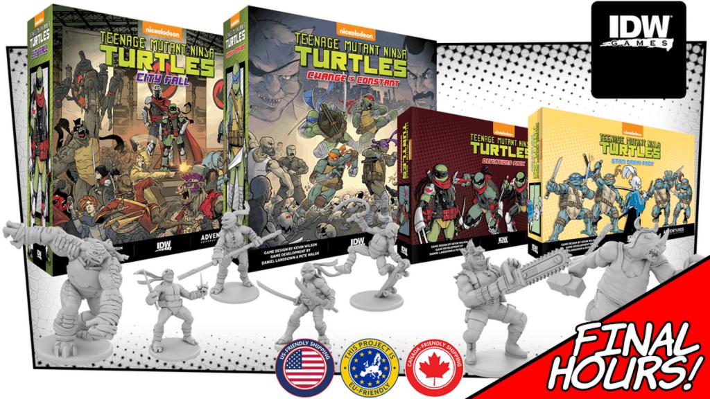 Teenage Mutant Ninja Turtles Adventures City Fall kickstarter